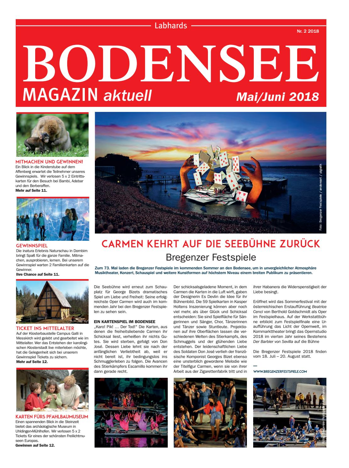 15766d62fb7383 Bodensee Magazin aktuell 2 2018 by Labhard Medien - issuu
