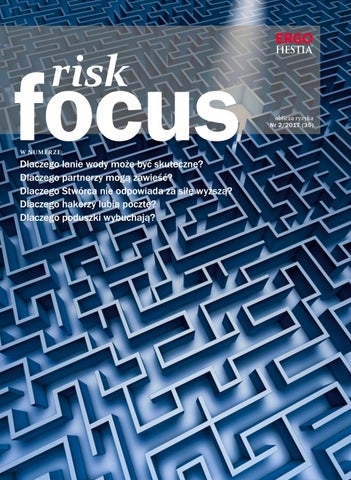 Risk Focus 2 2017 By Polish Creative Group Issuu