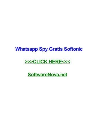 Whatsapp spy gratis softonic by jenniferylwx - issuu