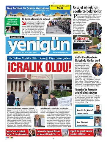 20 Mayis 2018 Pazar By Osman Ergun Issuu