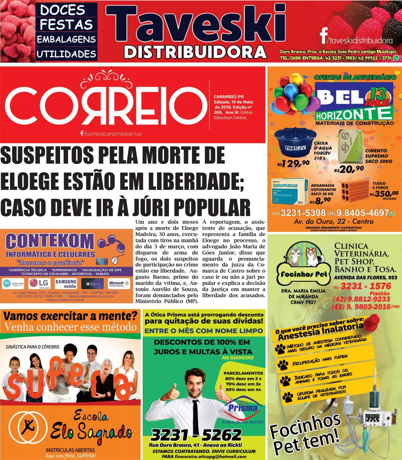 cad797c75d8ed Correio Carambeiense by Correio Carambeiense - issuu
