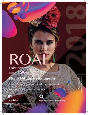 49332ee47f Creaciones Roal - Catálogo 2018 by Creaciones Roal - Trajes de ...