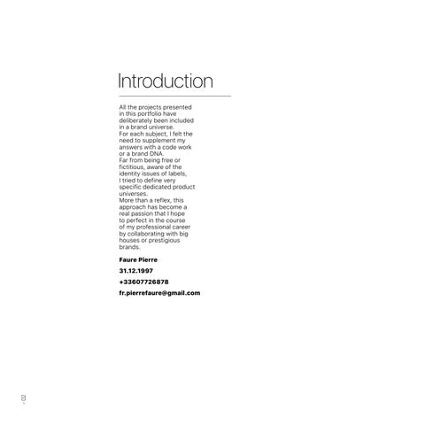 Page 2 of Introduction & resume