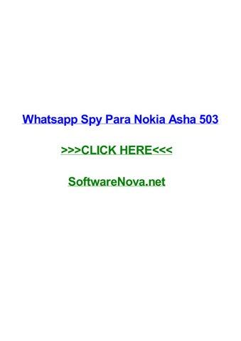spy whatsapp for nokia phones