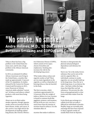 Page 44 of We Are Morehouse: Health