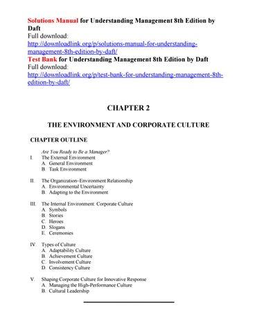 Management Daft 11th Edition Pdf