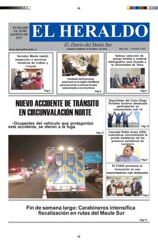 Domingo 20 de mayo 2018 by diario heraldo de linares - issuu f6b883aac2d