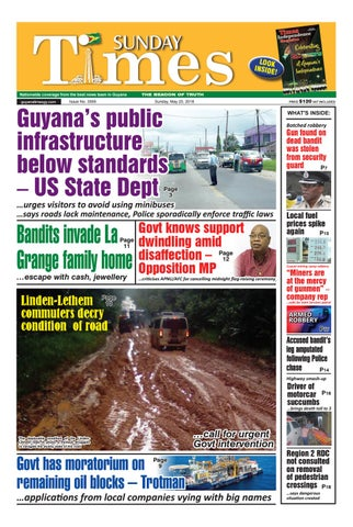 Guyanatime 20 may 2018 by Gytimes - issuu