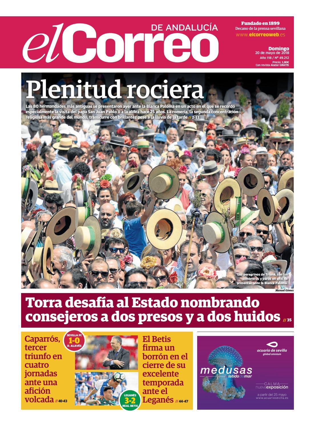 20.05.2018 El Correo de Andalucía by EL CORREO DE ANDALUCÍA S.L. - issuu ffd960a85a3