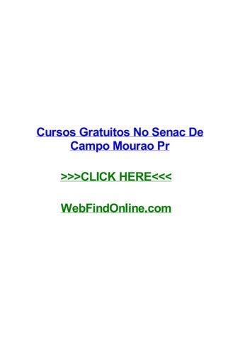 Cursos Gratuitos No Senac De Campo Mourao Pr By Donyxoe Issuu