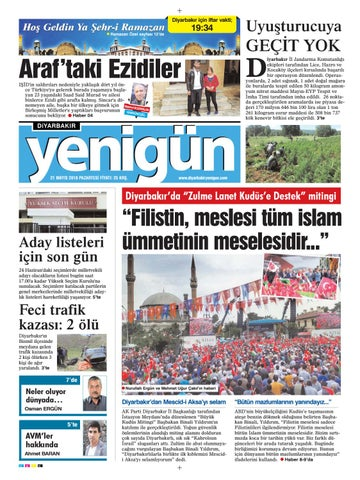 21 Mayis 2018 Pazartesi By Osman Ergun Issuu