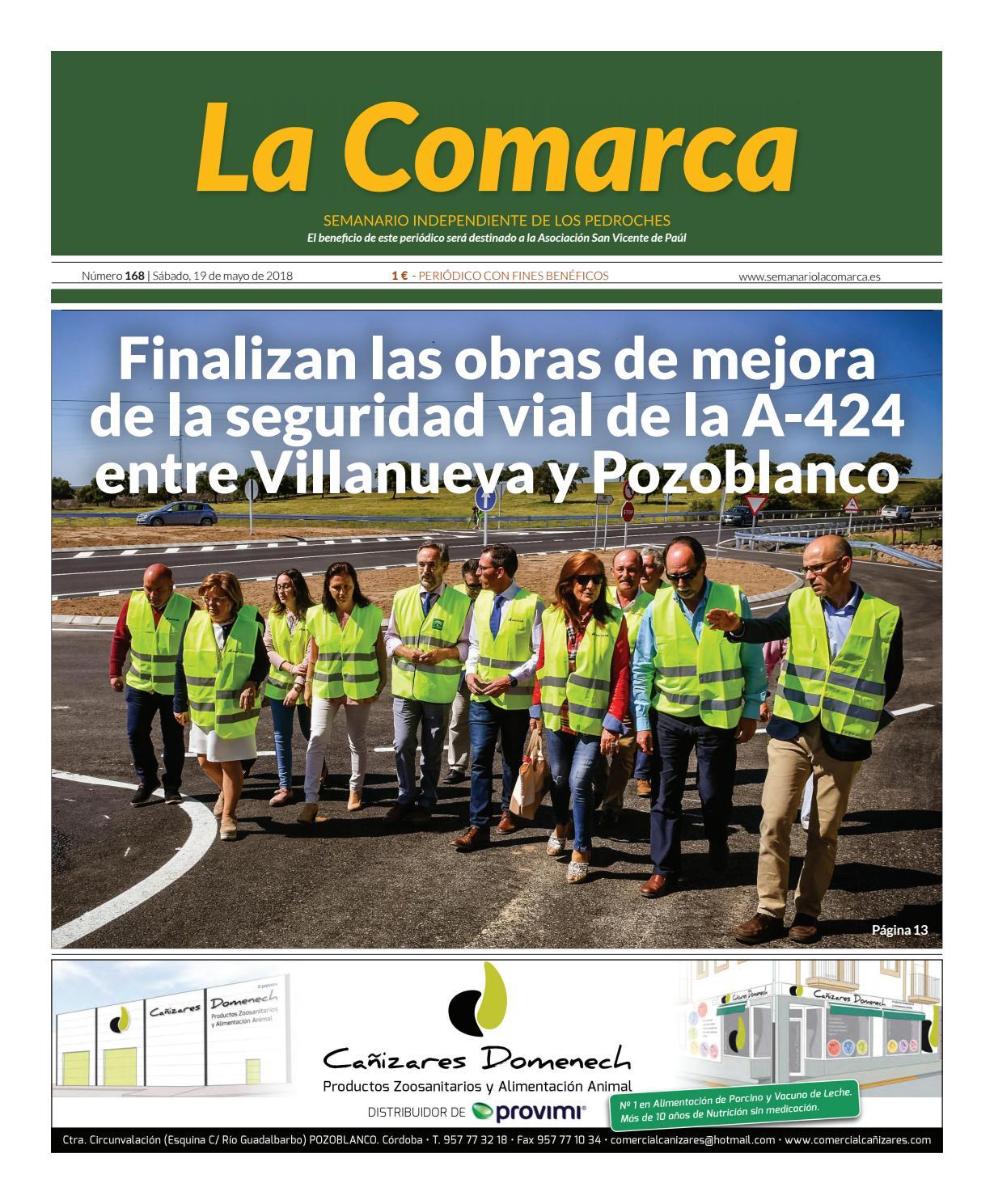 La Comarca nº 168   19/05/2018 by Semanario La Comarca - issuu