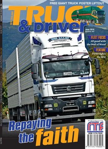 Nz Truck Driver June 2018 By Nz Truck Driver Issuu