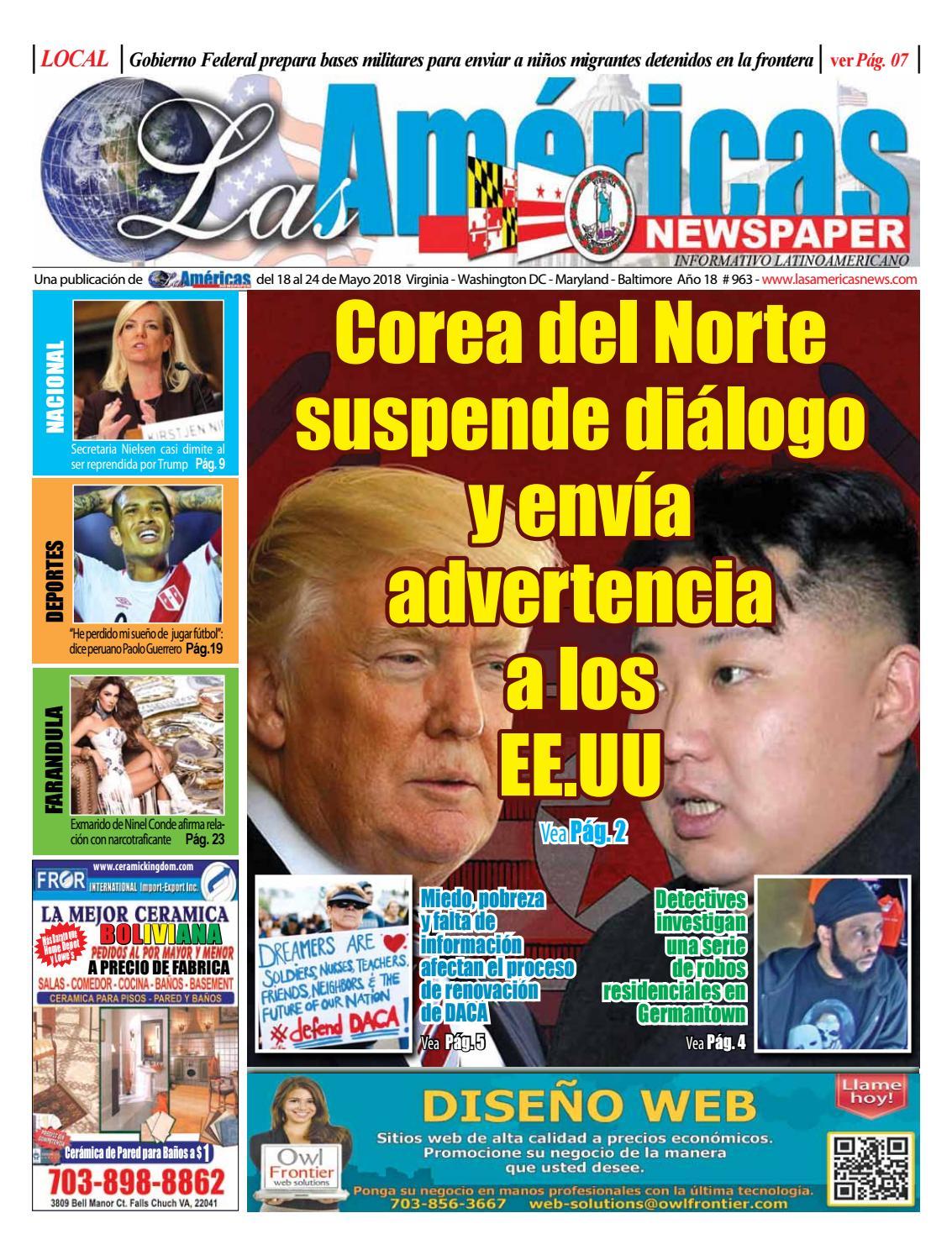 18 de mayo 2018 - Las Américas Newspaper by Las Americas