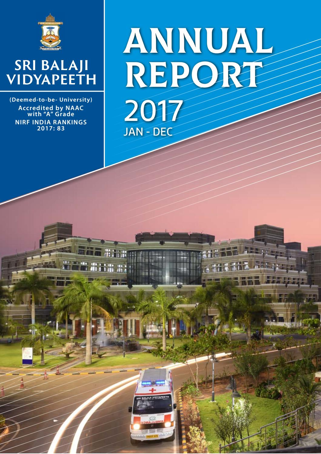 Annual Report 2017 Web By Dept Of Medical Informatics Issuu 23rd Vlsi Conference Held In Nimhans Convention Centre Bangalore