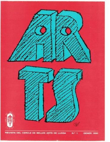 Resultat d'imatges de revista arts de ponent
