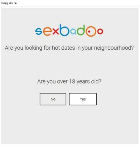 Dating sites Bio