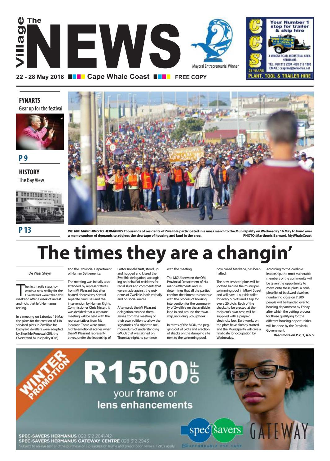 online retailer de14f 79901 The Village NEWS 22 - 28 May 2018 by The Village NEWS - issuu