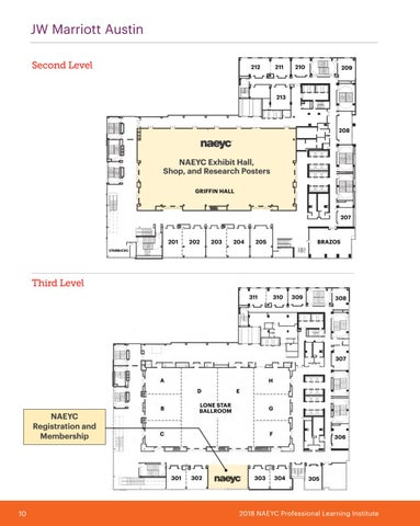 Page 12 of JW Marriot Austin Map