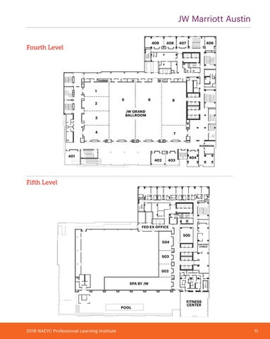 Page 13 of JW Marriot Austin Map