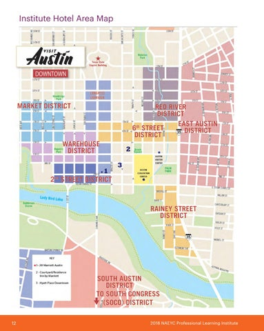 Page 14 of NAEYC Institute Hotel Area Map