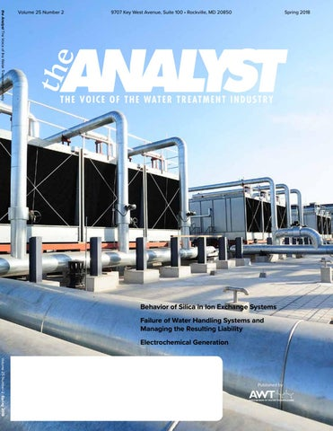 2018 AWT Spring Analyst by Association of Water Technologies