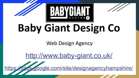 Design Agency Hampshire Baby Giant Design Co By Design Agency Hampshire Issuu