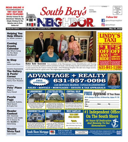 May 23rd, 2018 Amityville by South Bay's Neighbor Newspapers