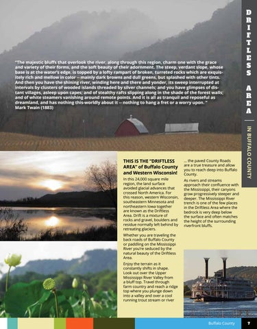 Page 7 of THE DRIFTLESS AREA