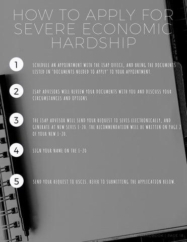 Page 19 of Severe Economic Hardship