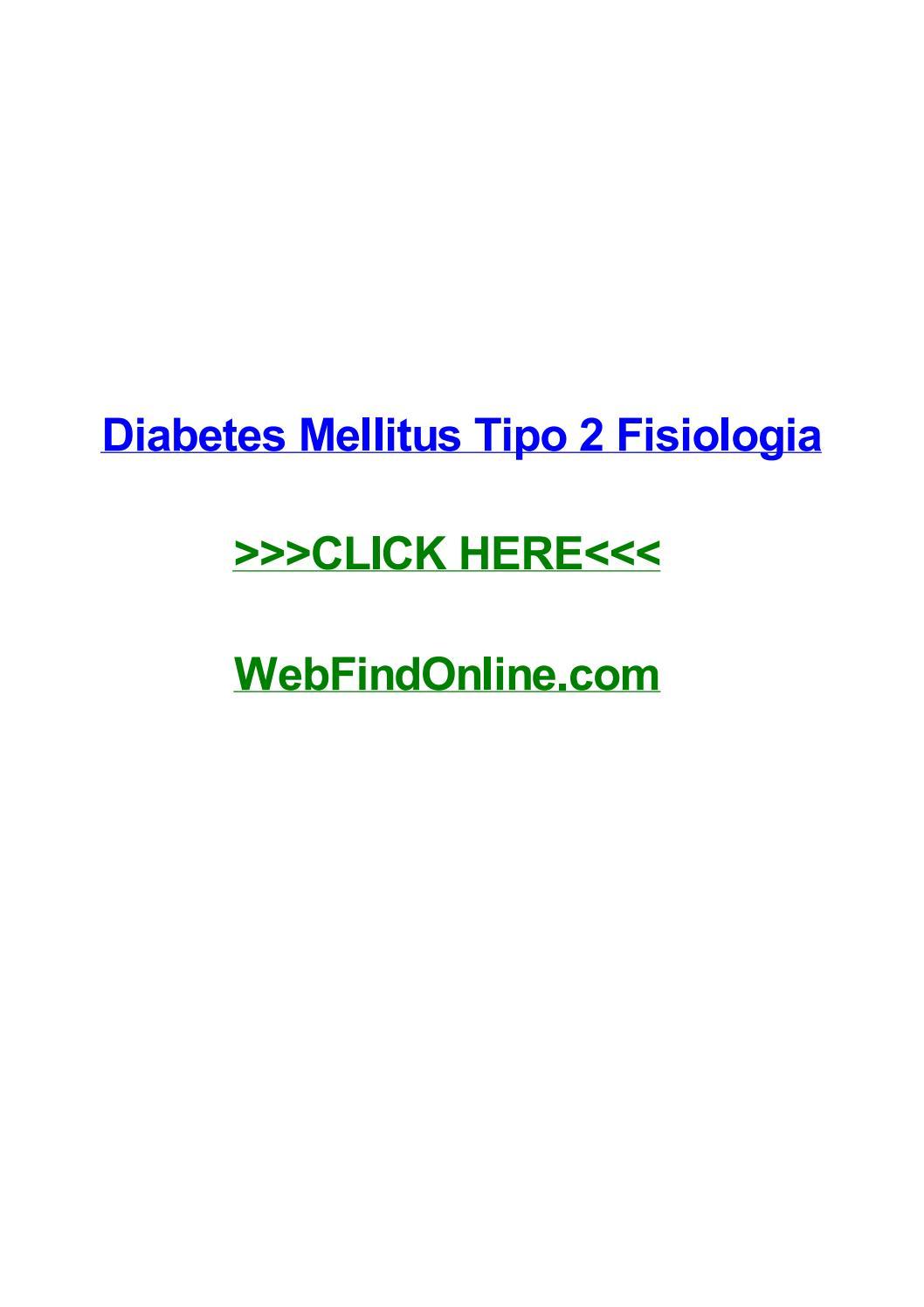 fisiopatologia do diabetes mellitus tipo 2