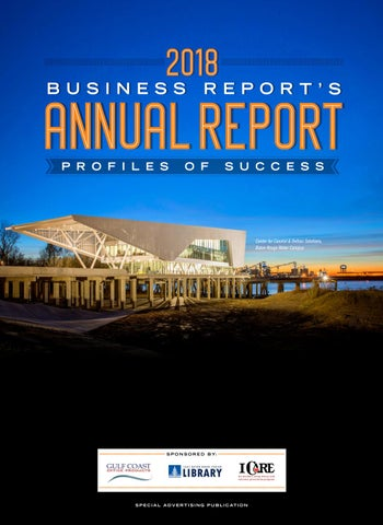 eda47a5c86 2018 Baton Rouge Business Report s Annual Report by Baton Rouge ...