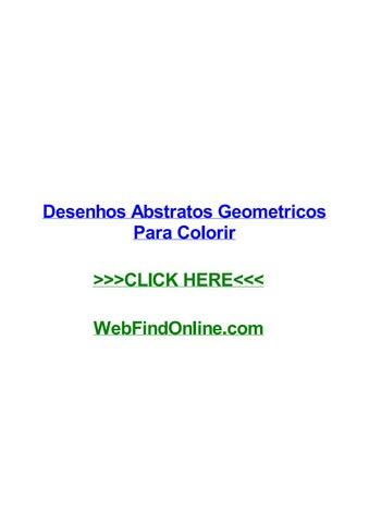 Desenhos Abstratos Geometricos Para Colorir By Candacenptq Issuu