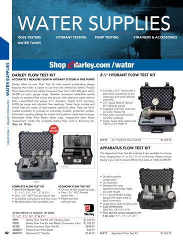 Darley Equipment Catalog 272 By W S Darley Company Issuu
