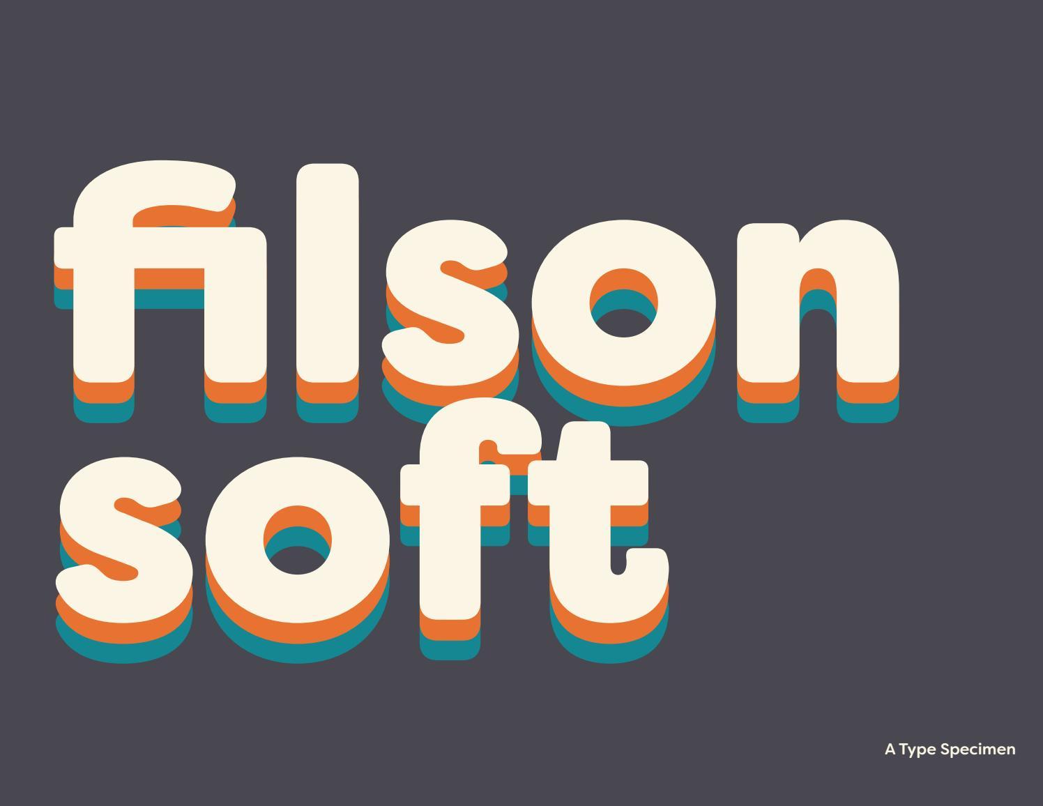 Filson Soft Type Specimen by audralinsner - issuu