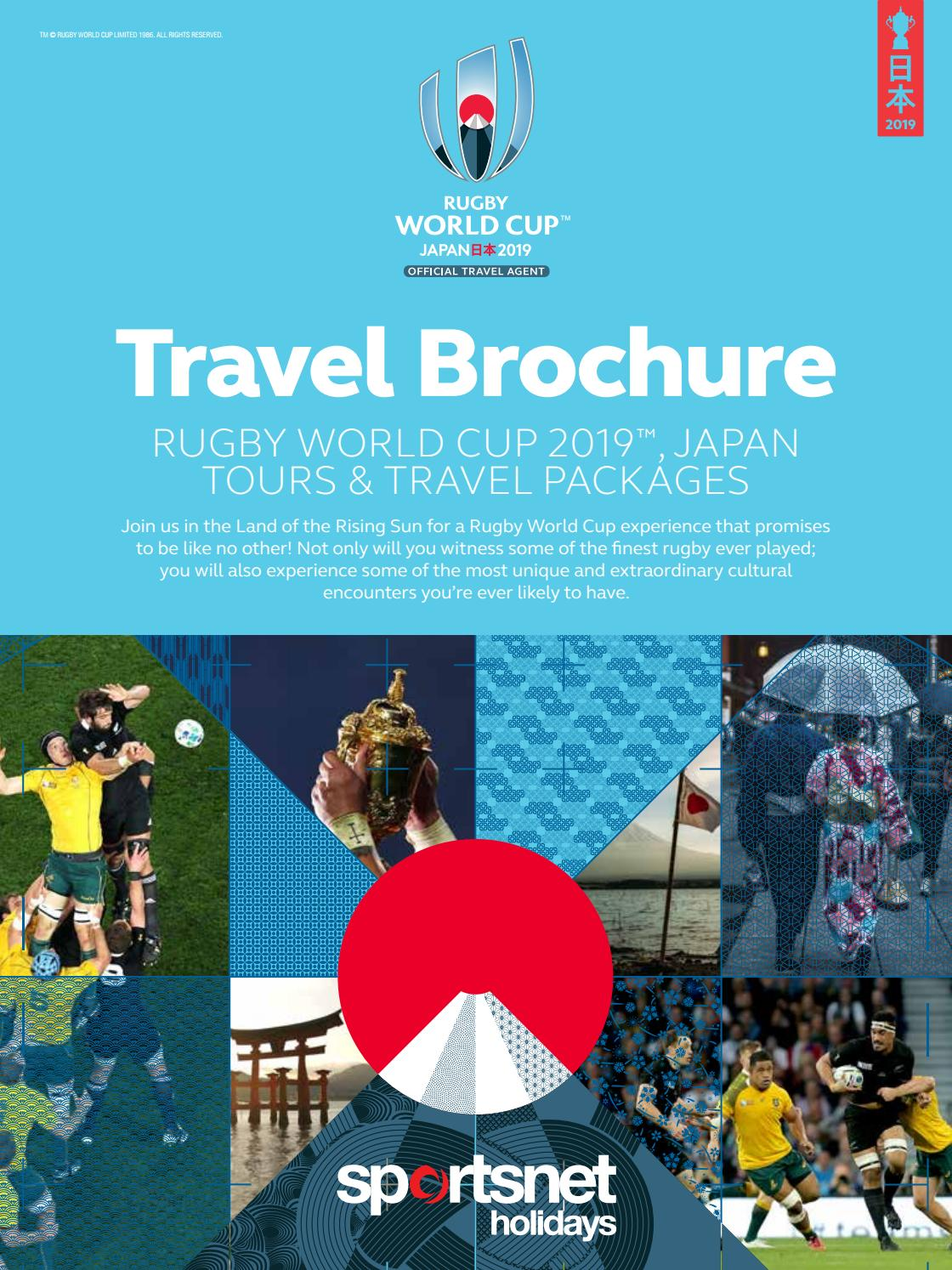 Sportsnet Holidays Rugby World Cup 2019 Japan E Brochure By Sportsnet Holidays Issuu