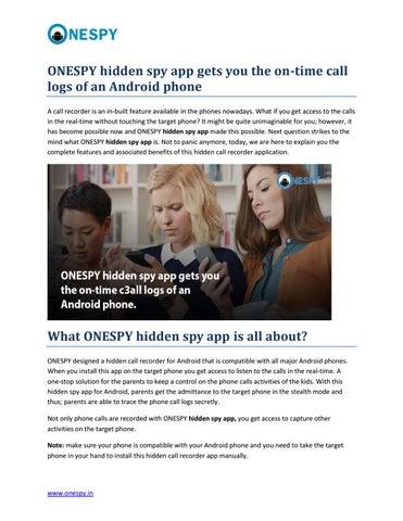 What is a hidden call