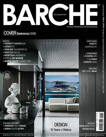 Barche March 2018 by INTERNATIONAL SEA PRESS SRL - BARCHE - issuu 1a7c0e31f82
