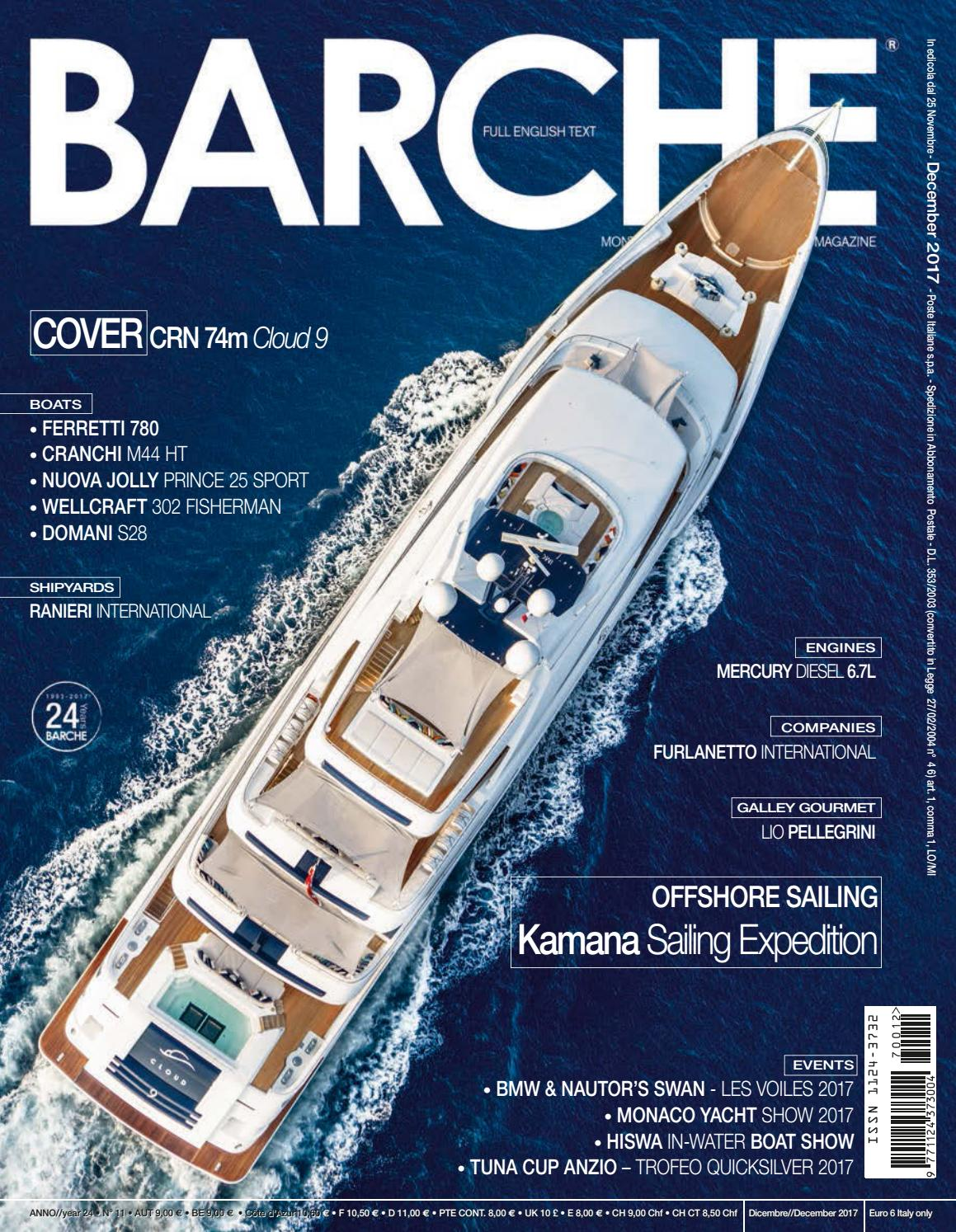 BARCHE - December 2017 by INTERNATIONAL SEA PRESS SRL - BARCHE - issuu b3d9a1b7c80