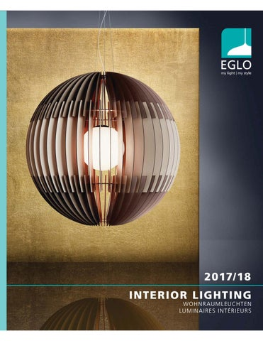 Eglo Interior Lighting Catalogue 2017 18 Part 1 By Led World Issuu