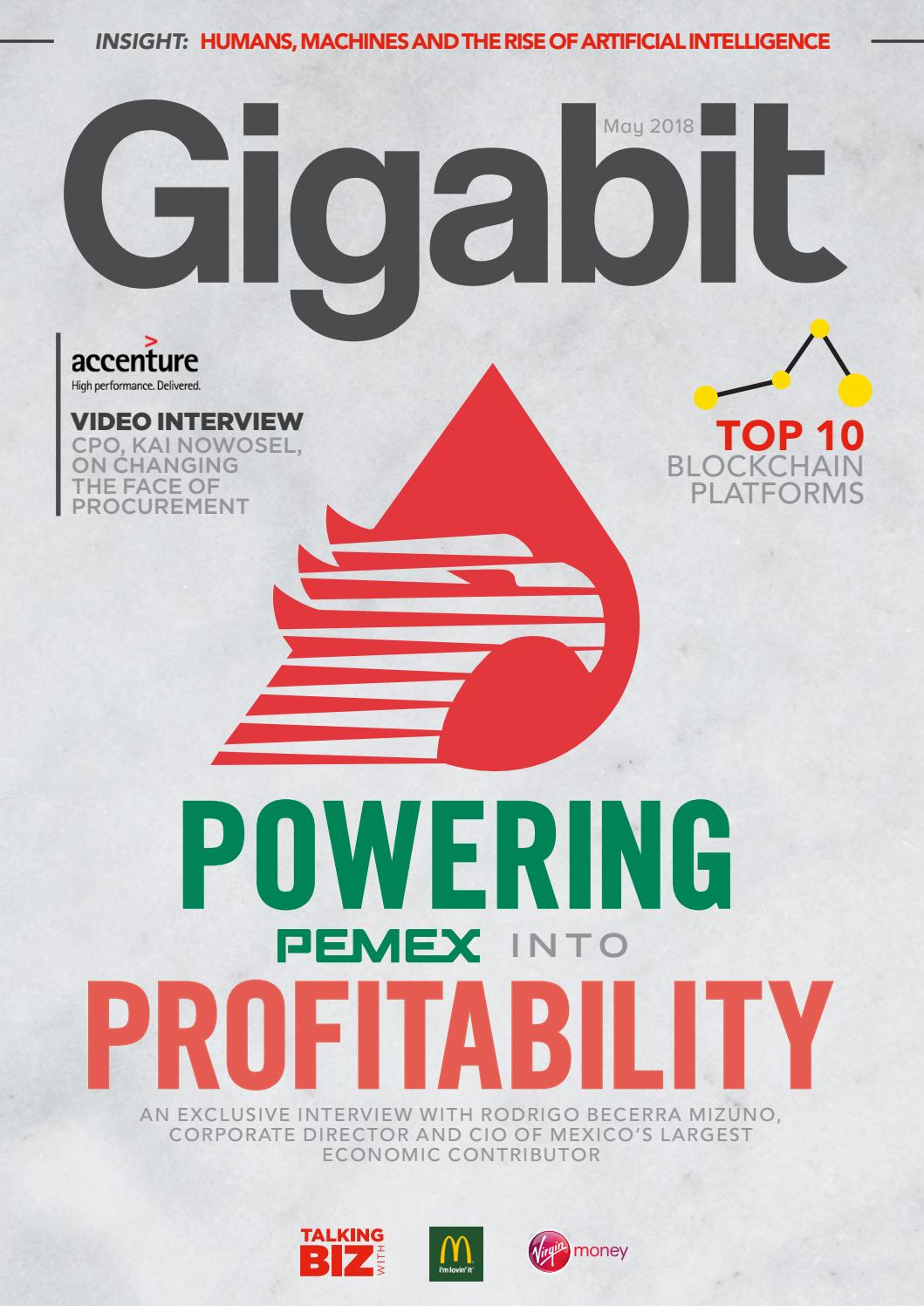Gigabit Magazine May 2018 By Issuu Design Of A Human Machine Interface Hmi For Heartrate Monitor