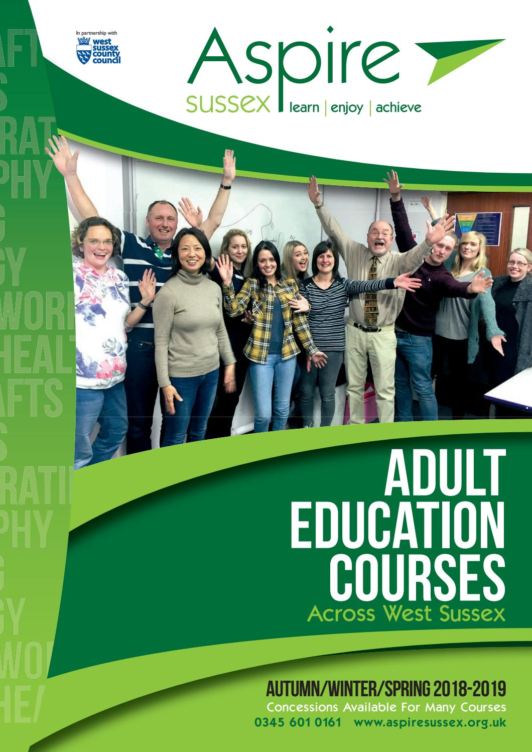 Sussex county adult education