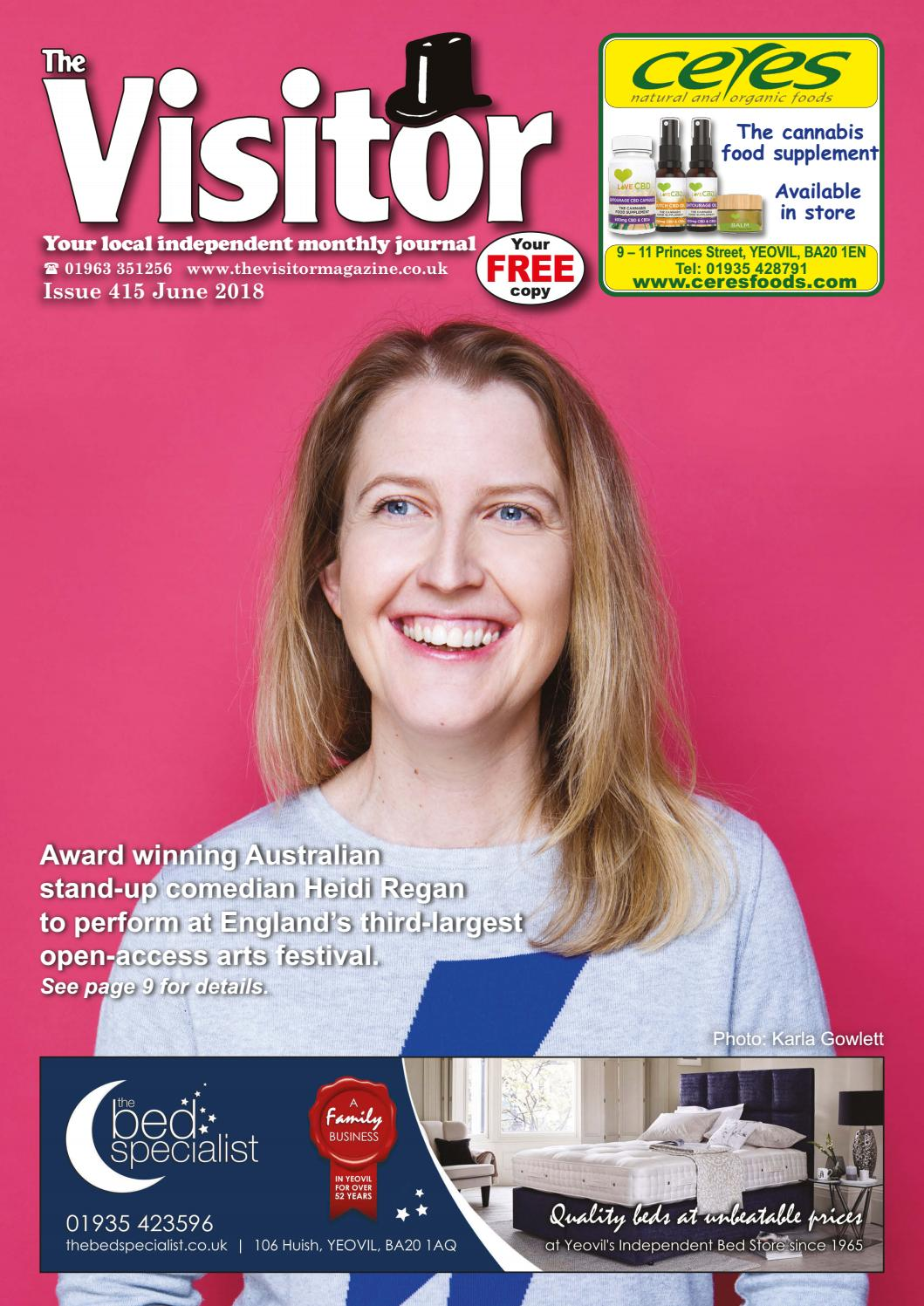 The Visitor Magazine Issue 415 June 2018 by The Visitor
