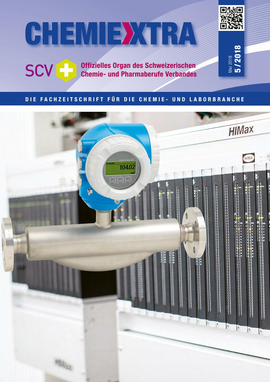 070f29d056 Chemiextra 5 2018 by SIGWERB GmbH - issuu