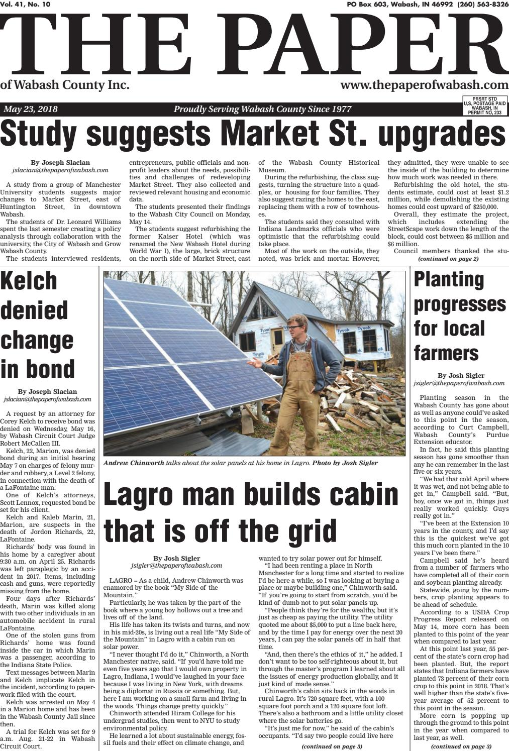 The Paper of Wabash County May 23 issue