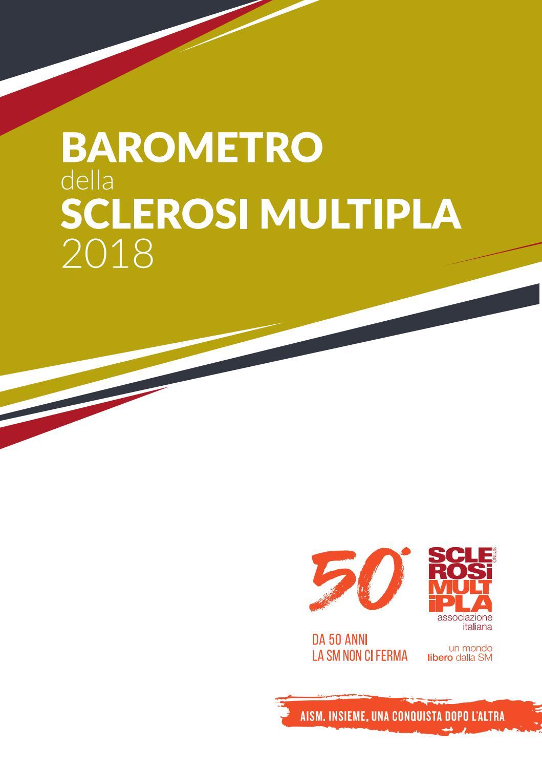 8ffc53efdf Barometro della SM 2018 by AISM Onlus - issuu