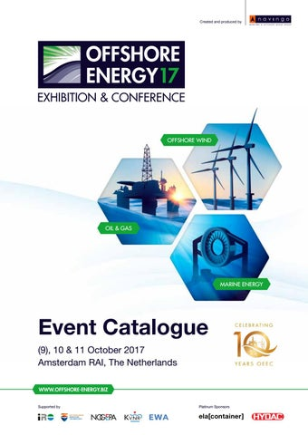 Event Catalogue Offshore Energy Exhibition & Conference 2017 by
