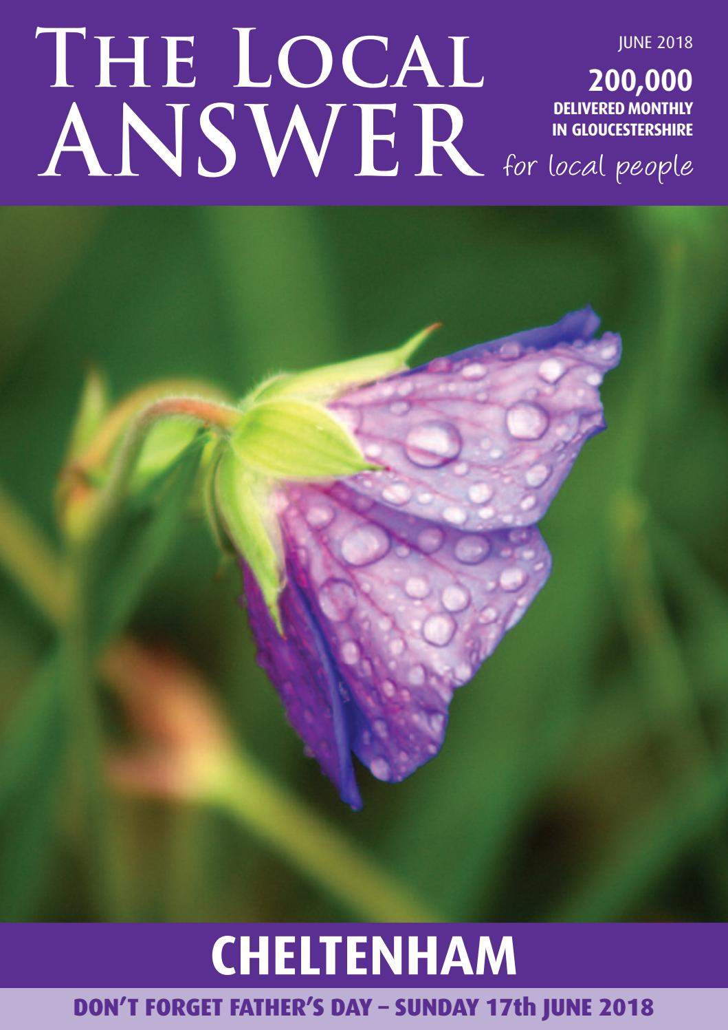Cheltenham By The Local Answer Issuu