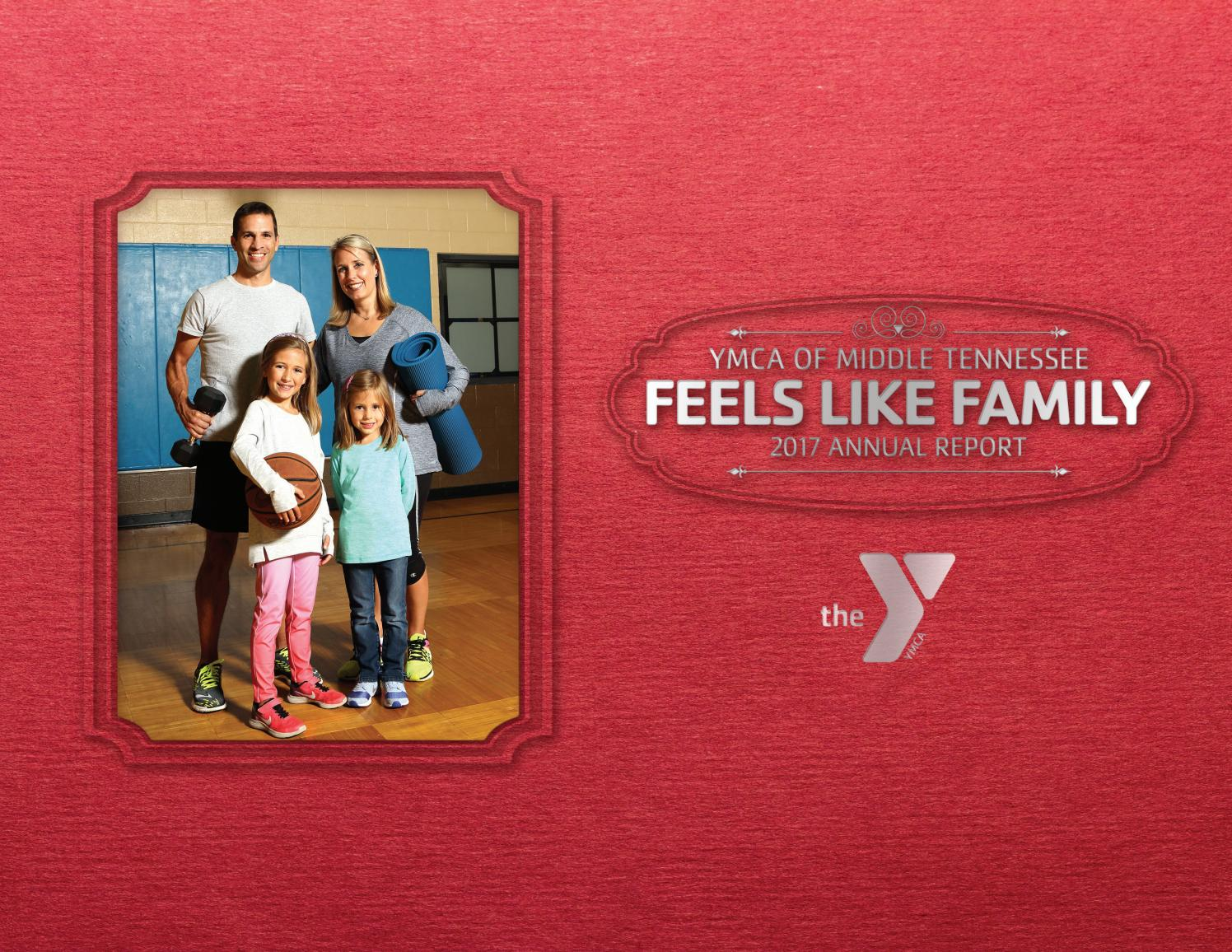 YMCA OF MIDDLE TENNESSEE 2017 ANNUAL REPORT by YMCA of