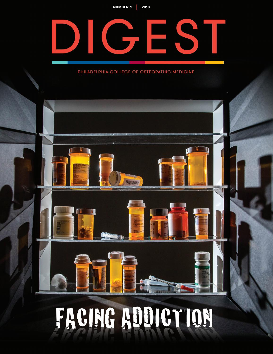 PCOM Digest Number 1 2018 by Philadelphia College of